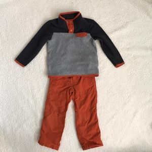 Other - toddler boys outfit set